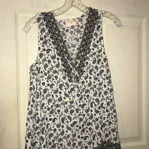 B&W Paisley Dress